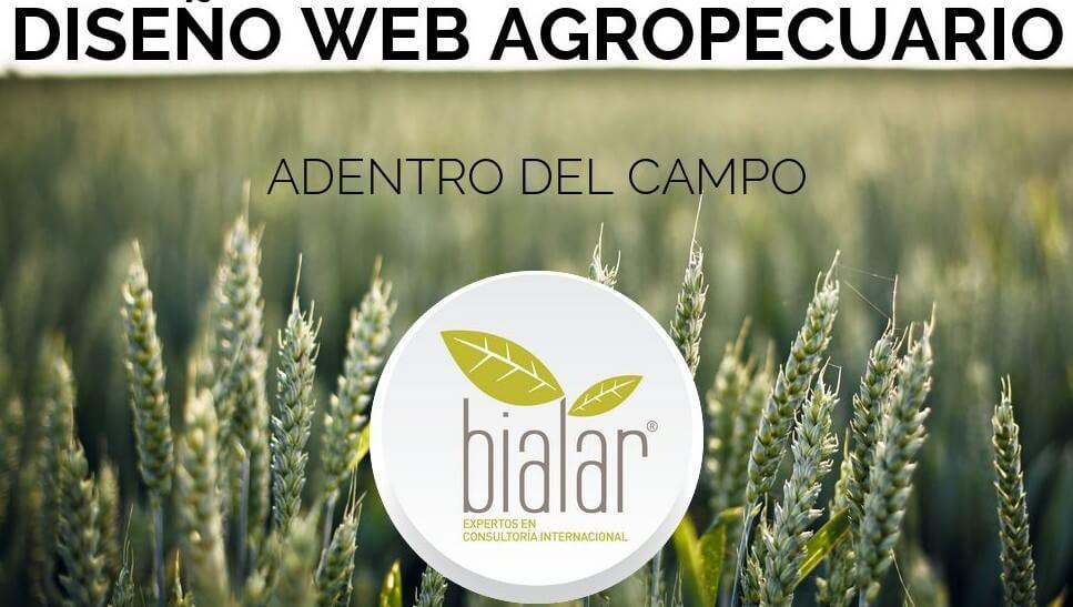 diseño web agropecuario agro campo