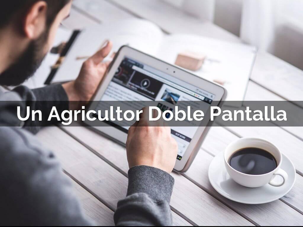 agricultor doble pantalla bialar
