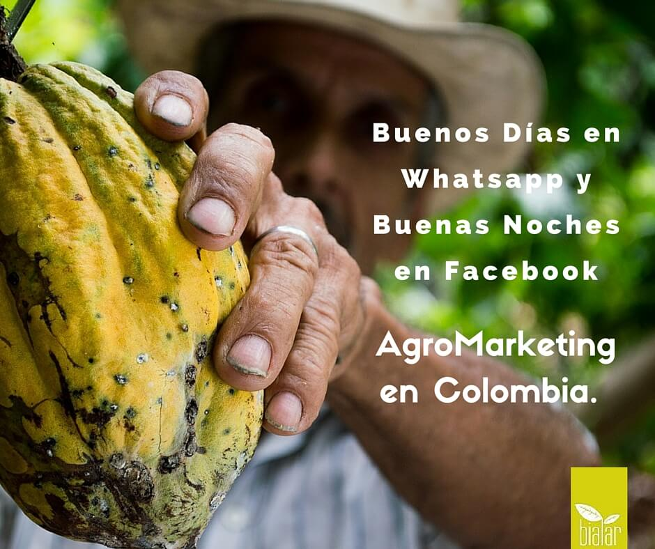 agromarketing en colombia, redes sociales