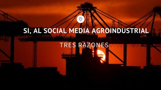 social media agroindustrial