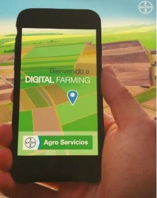 Digital Farming, App- Bayer Agro Servicios