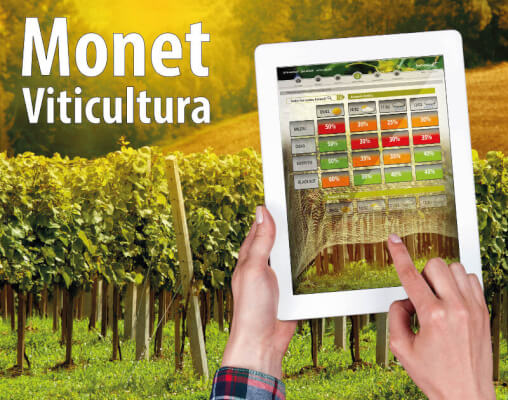 Monet Viticultura Herramienta de viticultura de precisión.