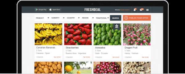 marketplace para profesionales de la agricultura