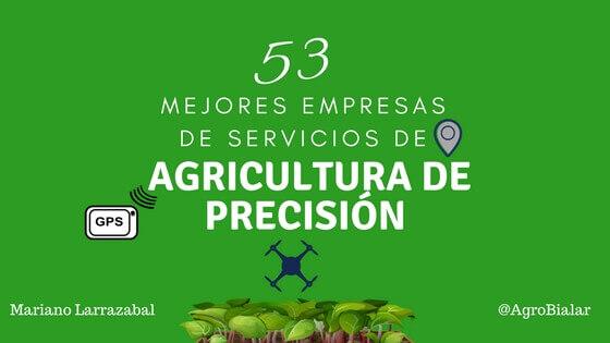 Agricultura de Precisión-empresas
