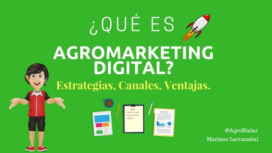 Qué es Agromarketing digital