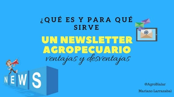 newsletter agropecuario