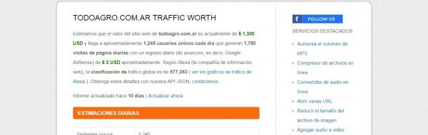 Site Worth Traffic-trafico web