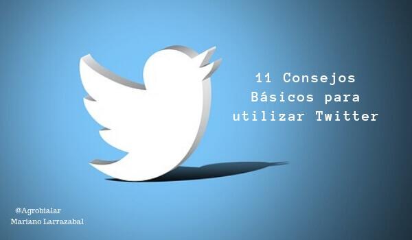 Consejos Básicos para utilizar Twitter