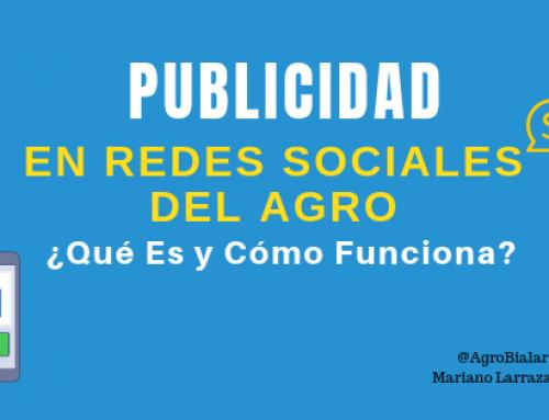 Publicidad en Redes Sociales del Agro ¿Qué Es y Cómo Funciona?