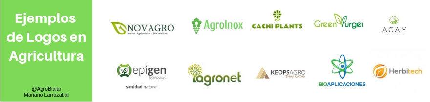 Ejemplos de logos en Agricultura