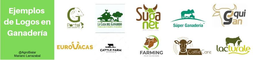 Ejemplos de logos en ganadería