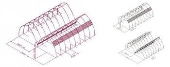 Invernaderos Tipo Túnel o Semicilíndrico