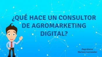 ¿Qué Hace un Consultor de Agromarketing digital