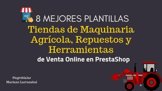 8 Mejores Plantillas para Tiendas de Maquinaria Agrícola, Repuestos y Herramientas de Venta Online en PrestaShop