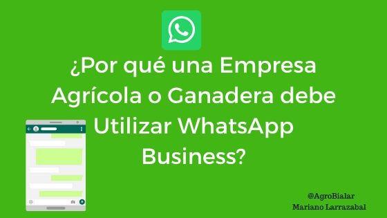 Por-que-Empresa-Agricola-ganadera-Utilizar-WhatsApp- Busines