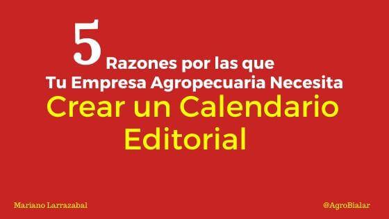 Crear un Calendario Editorial