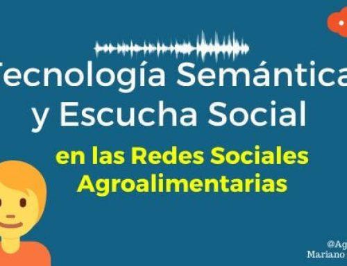 Tecnología Semántica y Escucha Social en las Redes Sociales Agroalimentarias