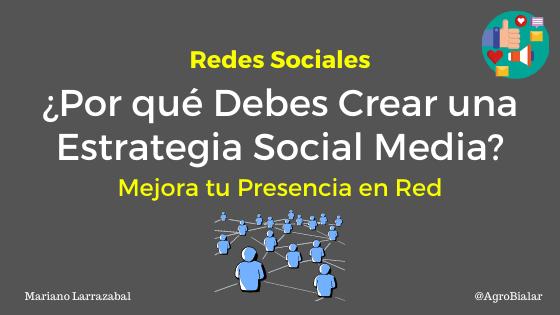 Crear una Estrategia Social Media
