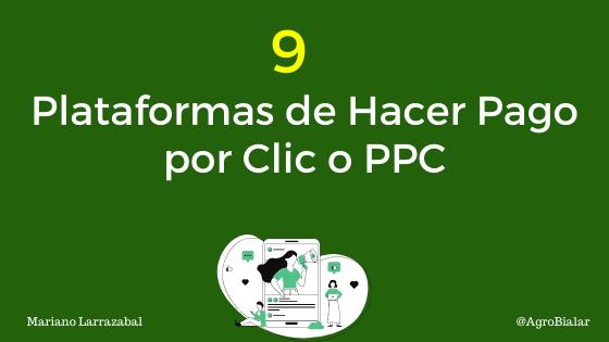 9 Plataformas de Hacer Pago por Clic o PPC